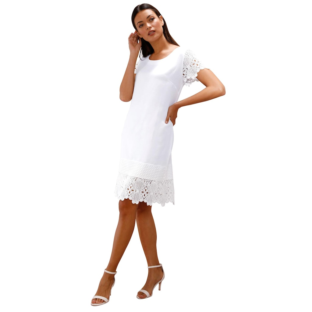 creation L Spitzenkleid »Lyocell-Kleid«