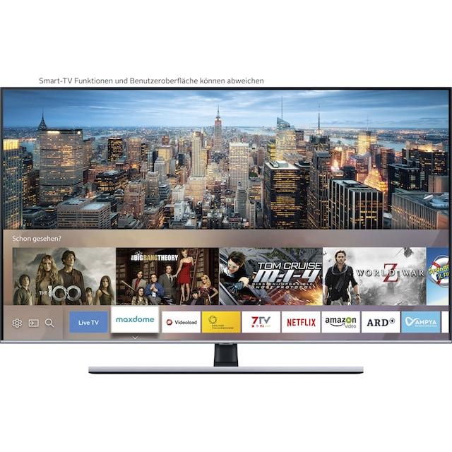 Samsung GQ65Q75T QLED-Fernseher (163 cm / (65 Zoll), 4K Ultra HD, Smart-TV