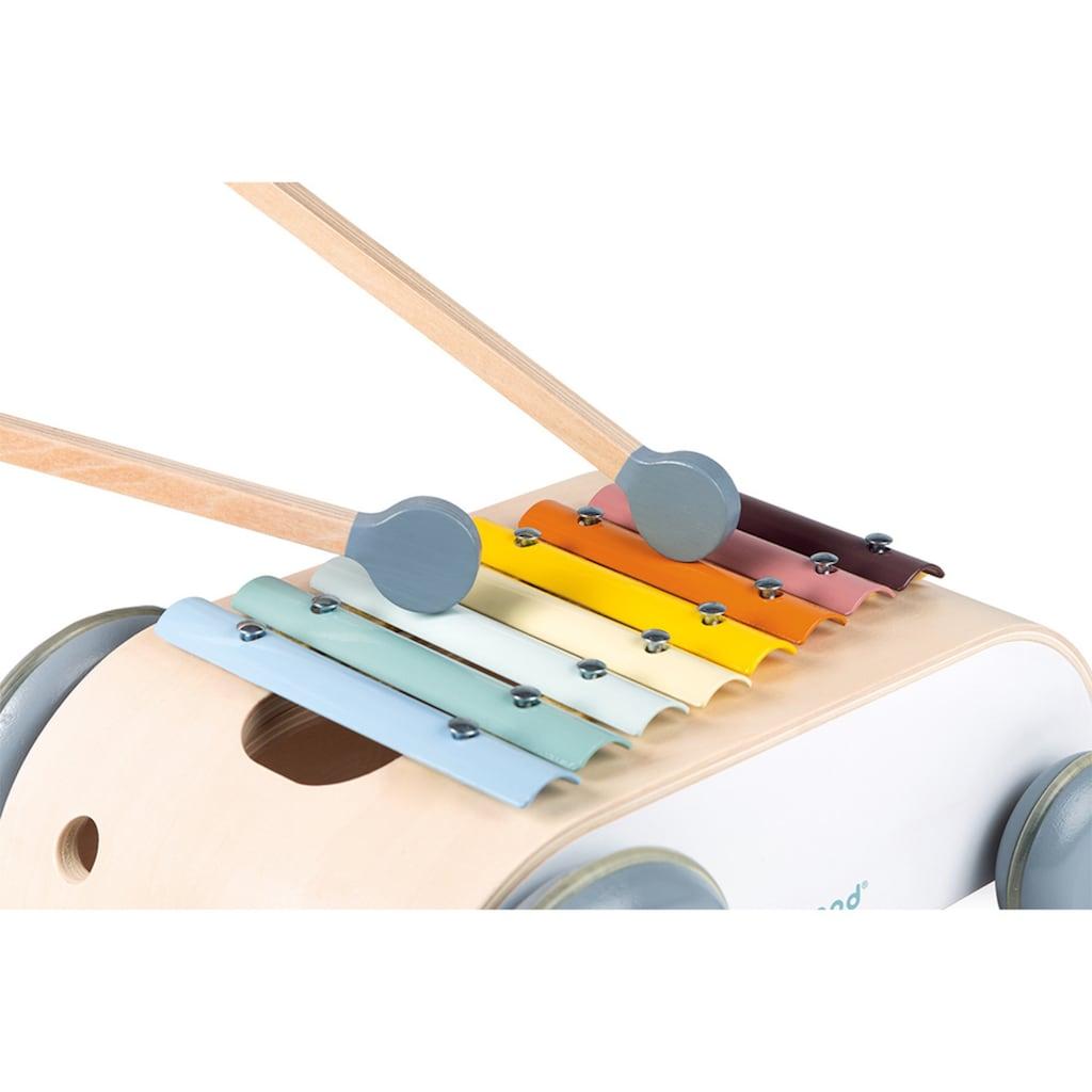 Janod Spielzeug-Musikinstrument »Sweet Cocoon, Xylophon-Wagen«