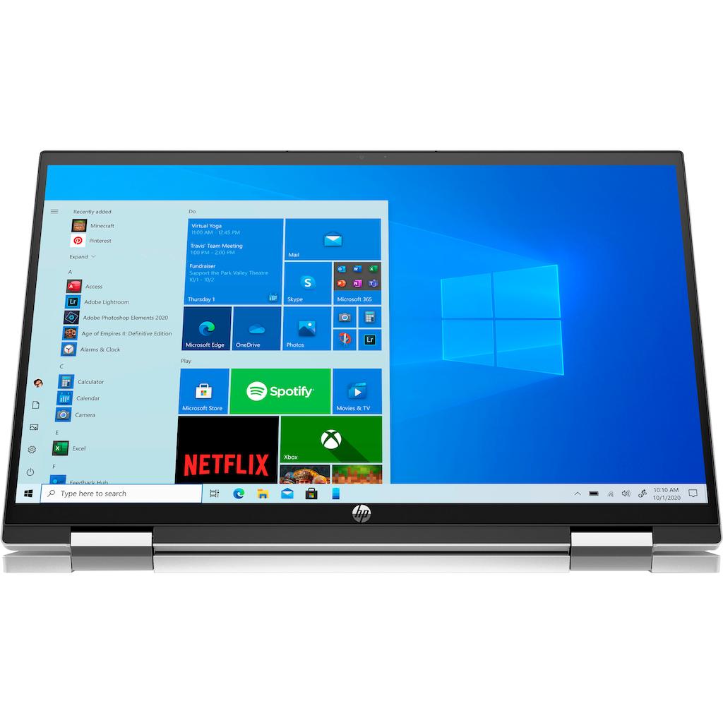 "HP Convertible Notebook »15-er0055ng«, (39,6 cm/15,6 "" Intel Core i5 Iris© Xe Graphics\r\n 512 GB SSD), Kostenloses Upgrade auf Windows 11, sobald verfügbar"