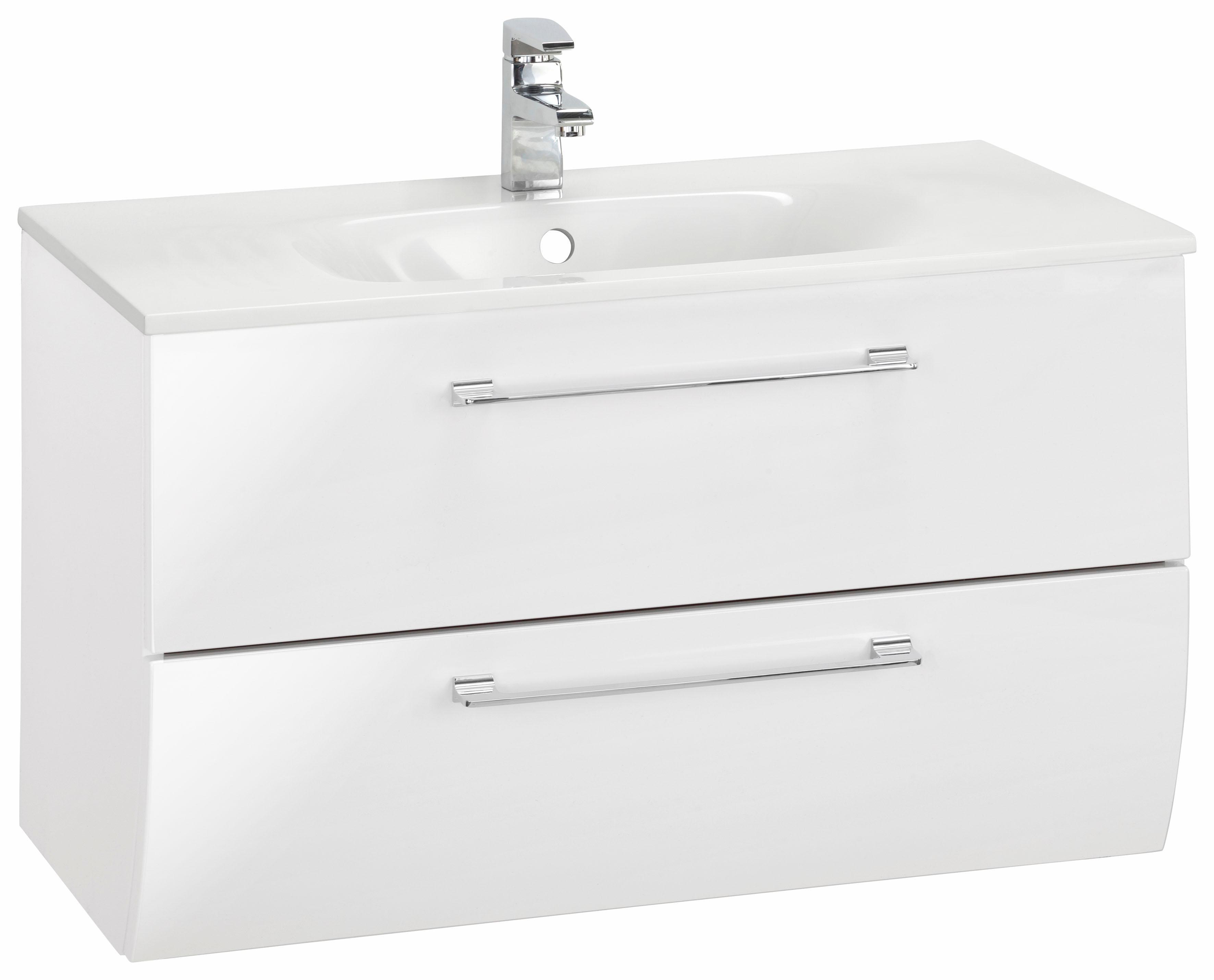 MARLIN Waschtisch, Sola 3130 weiß Waschtische Badmöbel