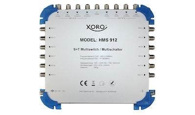 Xoro XORO Multischalter 9 Eingänge / 12 Ausgänge »HMS 912« kaufen