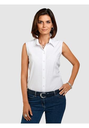 Mona Basicbluse mit Baumwolle Ohne Arm kaufen
