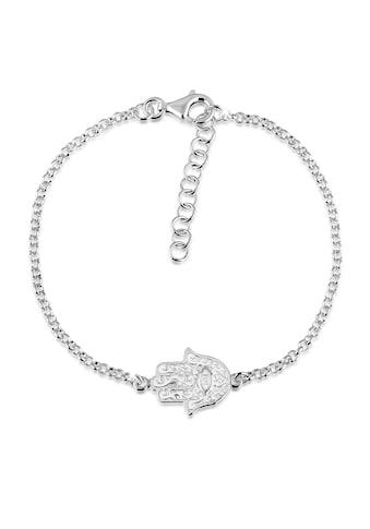 Nenalina Armband »Hamsa Hand Symbol Ornament Anhänger 925 Silber« kaufen