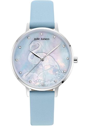 Julie Julsen Quarzuhr »Flamingo Blue, JJW1006SL-01« kaufen
