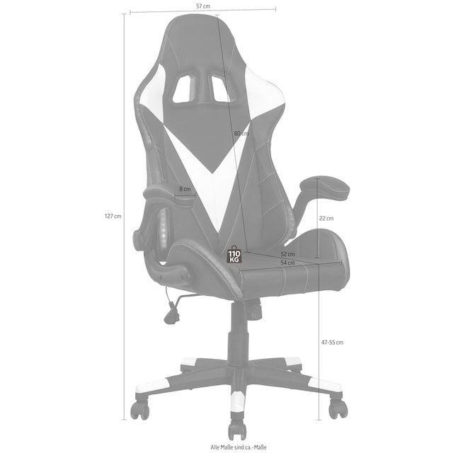 """Homexperts Gaming Chair """"Song"""""""