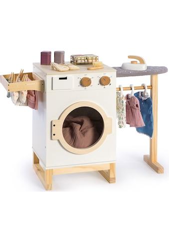 MUSTERKIND® Kinder-Haushaltsset »Wasch- und Bügelcenter Rumex«, aus Holz kaufen