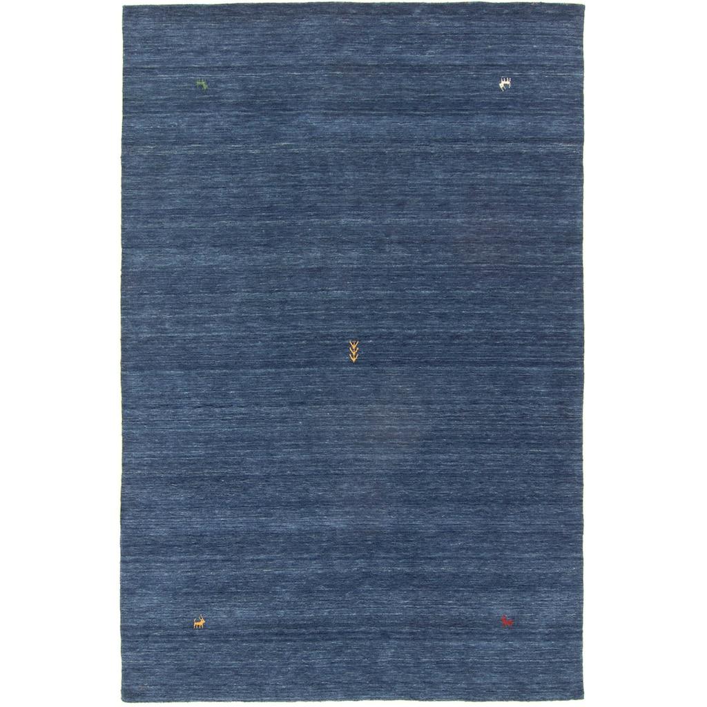 morgenland Wollteppich »Gabbeh Teppich Deluxe«, rechteckig, 15 mm Höhe