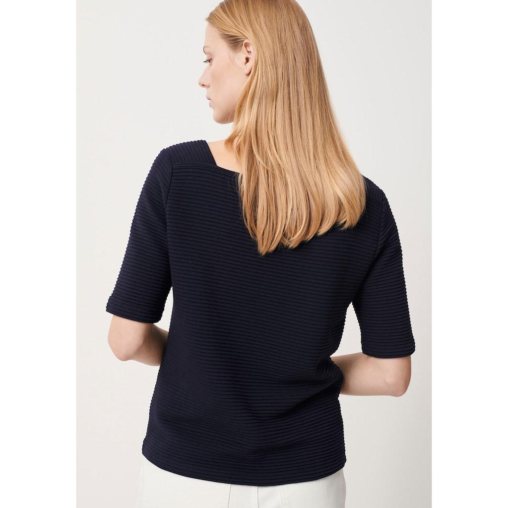 someday 3/4-Arm-Shirt, mit Strukturmuster und 3/4 Arm