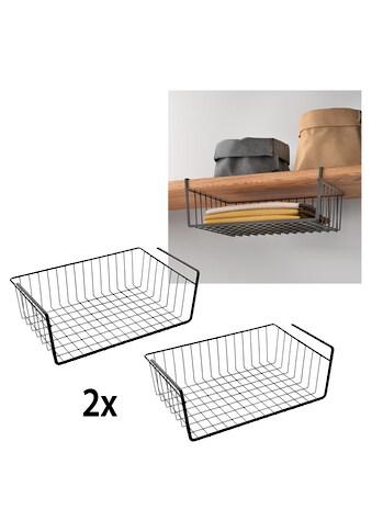 Metaltex Einhängekorb, (2 St.), Industrial Look, zum Einhängen kaufen
