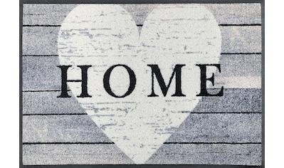 wash+dry by Kleen-Tex Fußmatte »Heart at Home«, rechteckig, 7 mm Höhe, Schmutzfangmatte kaufen