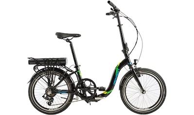 LLobe E - Bike »Devron foldable black«, 7 Gang Shimano Kettenschaltung, Heckmotor 250 W (mit Akku - Ladegerät) kaufen