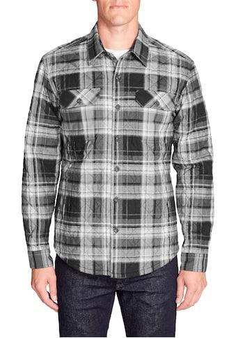 Eddie Bauer Langarmhemd, Eddie's Favorite Hemdjacke - Gesteppt kaufen