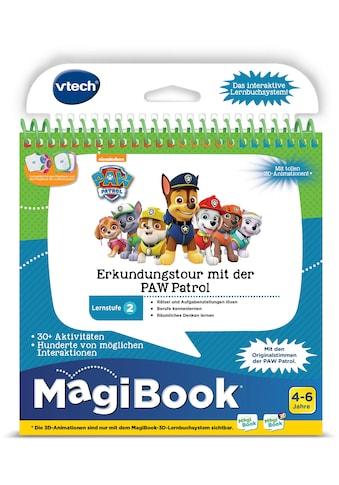 """Vtech® Buch """"MagiBook Lernstufe 2  -  Erkundungtour mit der PAW Patrol"""" kaufen"""