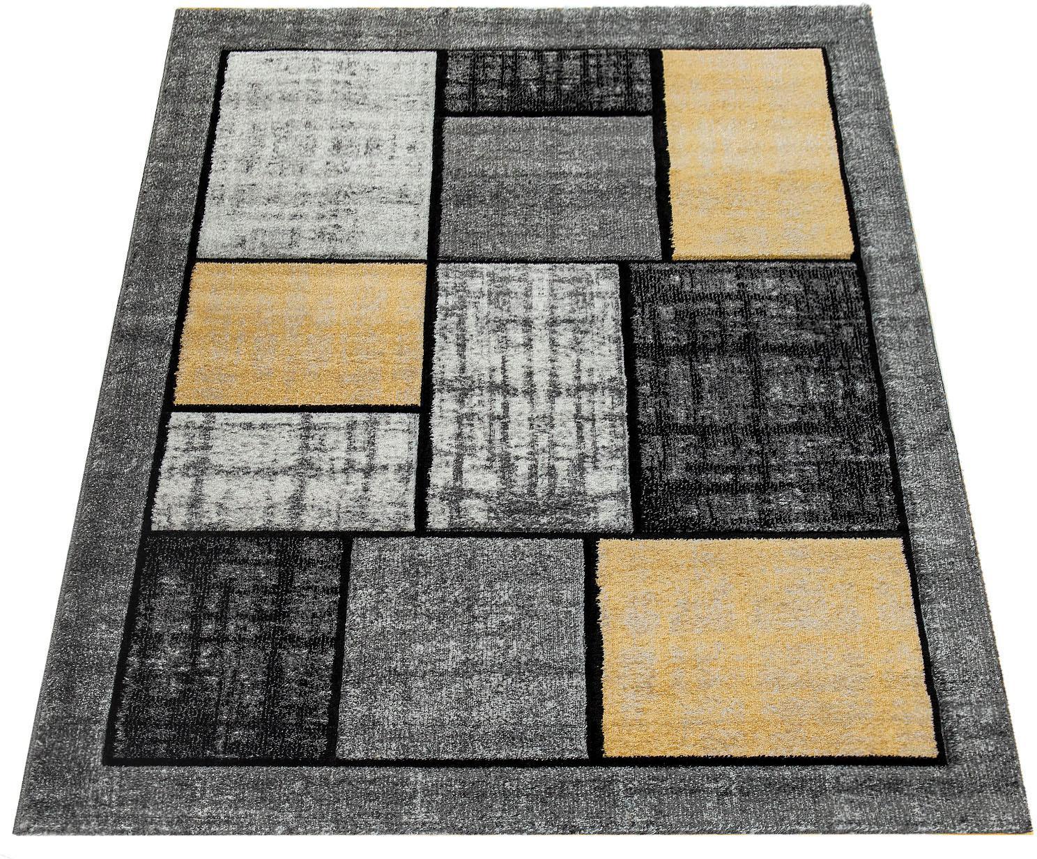Teppich Pattern 125 Paco Home rechteckig Höhe 18 mm maschinell gewebt