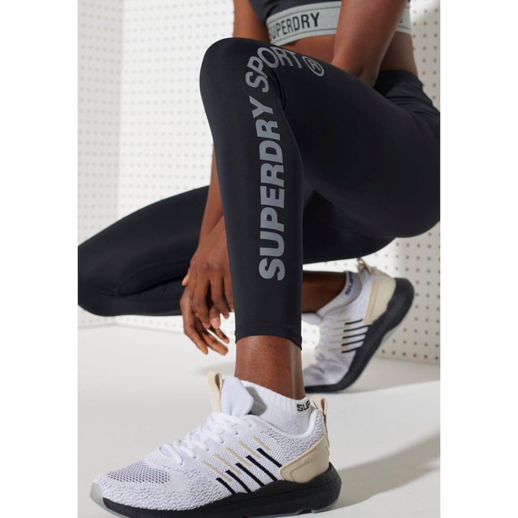 Superdry Sport Leggings »TRAINING ESSENTIAL LEGGINGS«, mit verschließbarer Tasche