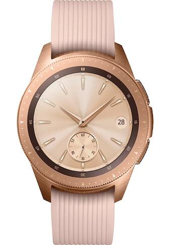 Samsung Galaxy Watch  -  42mm Smartwatch (3,05 cm / 1,2 Zoll, Tizen OS) kaufen