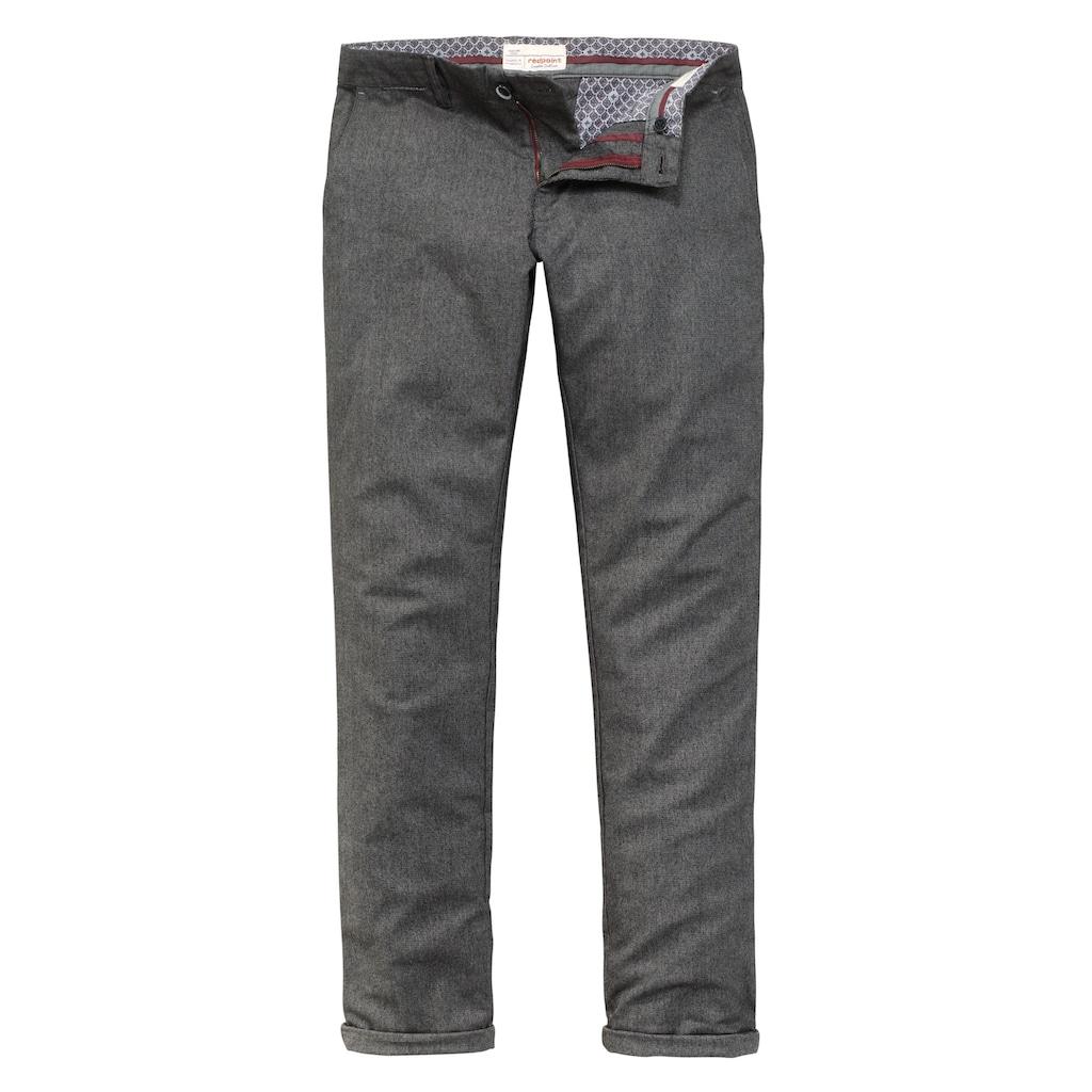 Redpoint modische Wool Stretch Chino