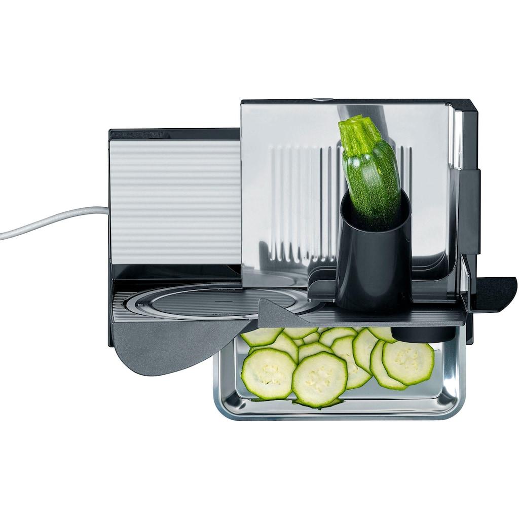"""Graef Allesschneider »Sliced Kitchen Premium Cut """"Lafer Edition"""", anthrazit«, 200 W"""