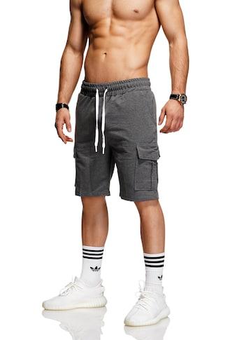 behype Shorts »CURT«, mit Cargo-Taschen kaufen