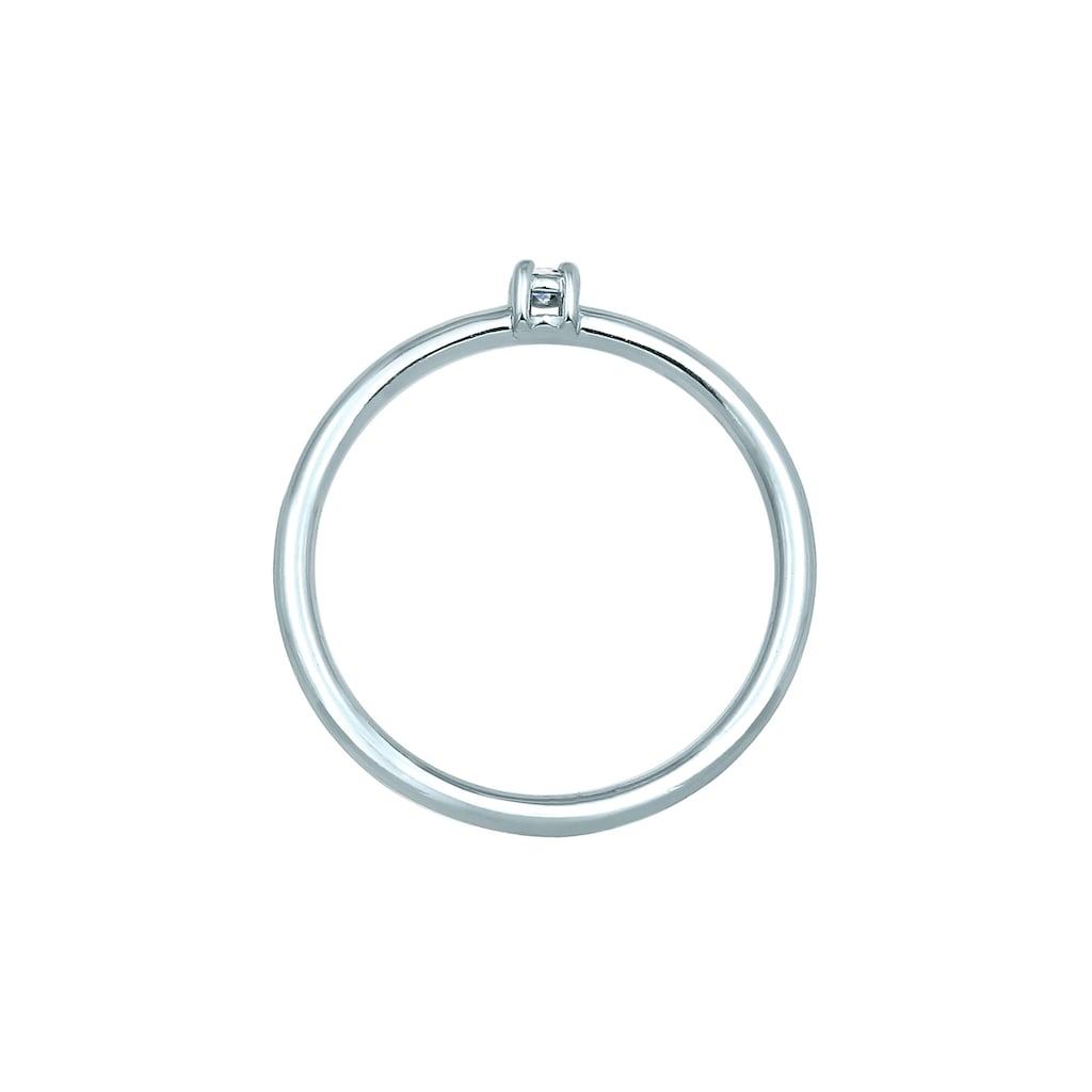 Diamore Verlobungsring »Verlobung Solitär Diamant (0.03 ct.) 585 Weißgold«