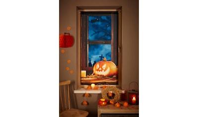 Gardine, »Halloween«, my home, Stangendurchzug 1 Stück kaufen