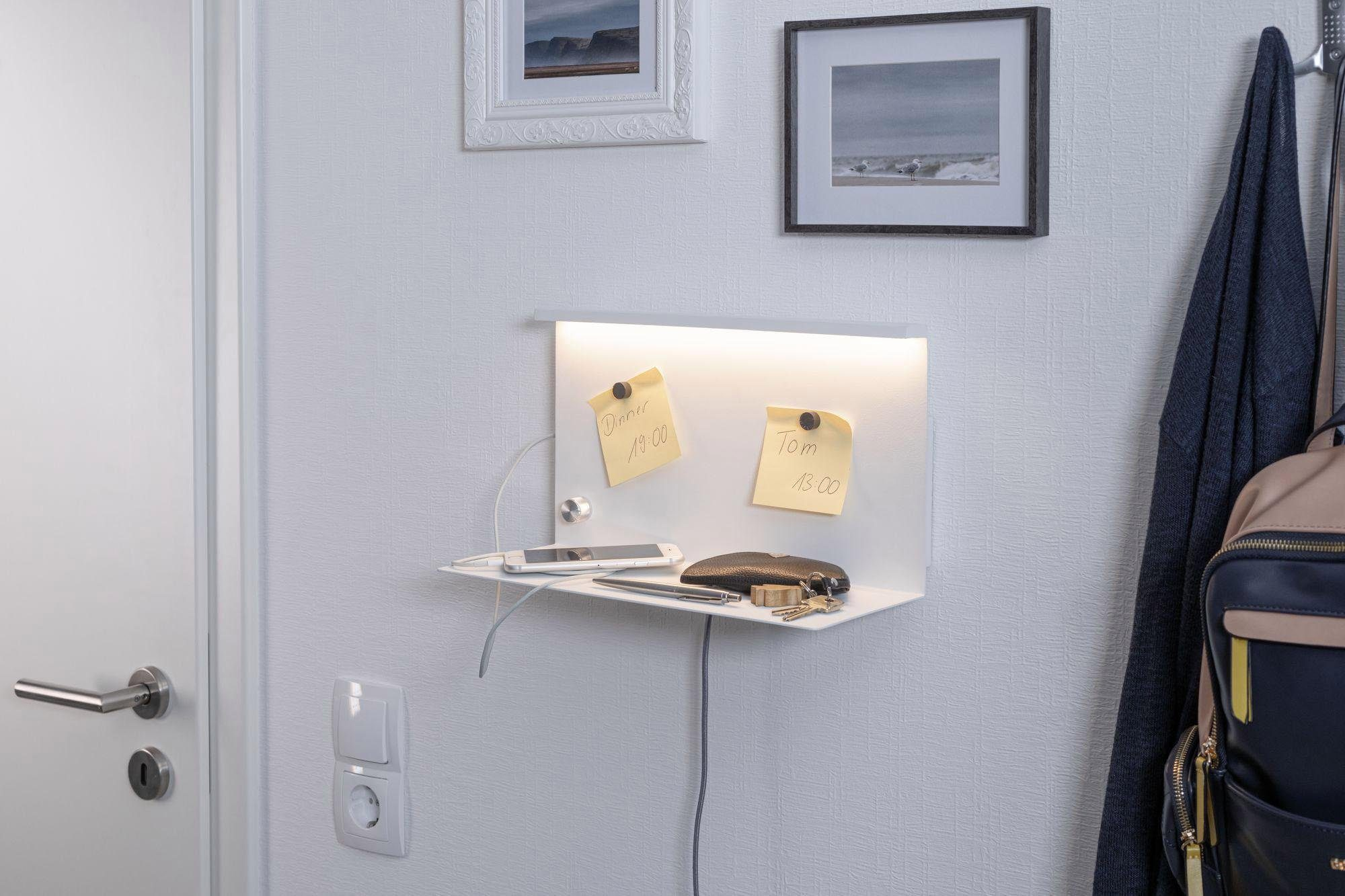 Paulmann,LED Wandleuchte Jarina 4,5W Weiß 230V Metall