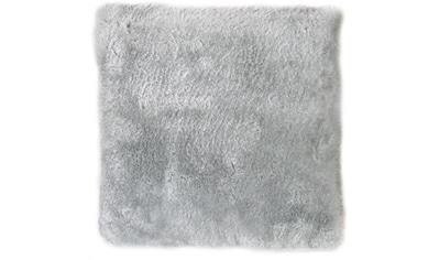 Andiamo Fellkissen »Lamm Fellimitat«, Dekokissen, Zierkissen, eckig, 40x40 cm,... kaufen