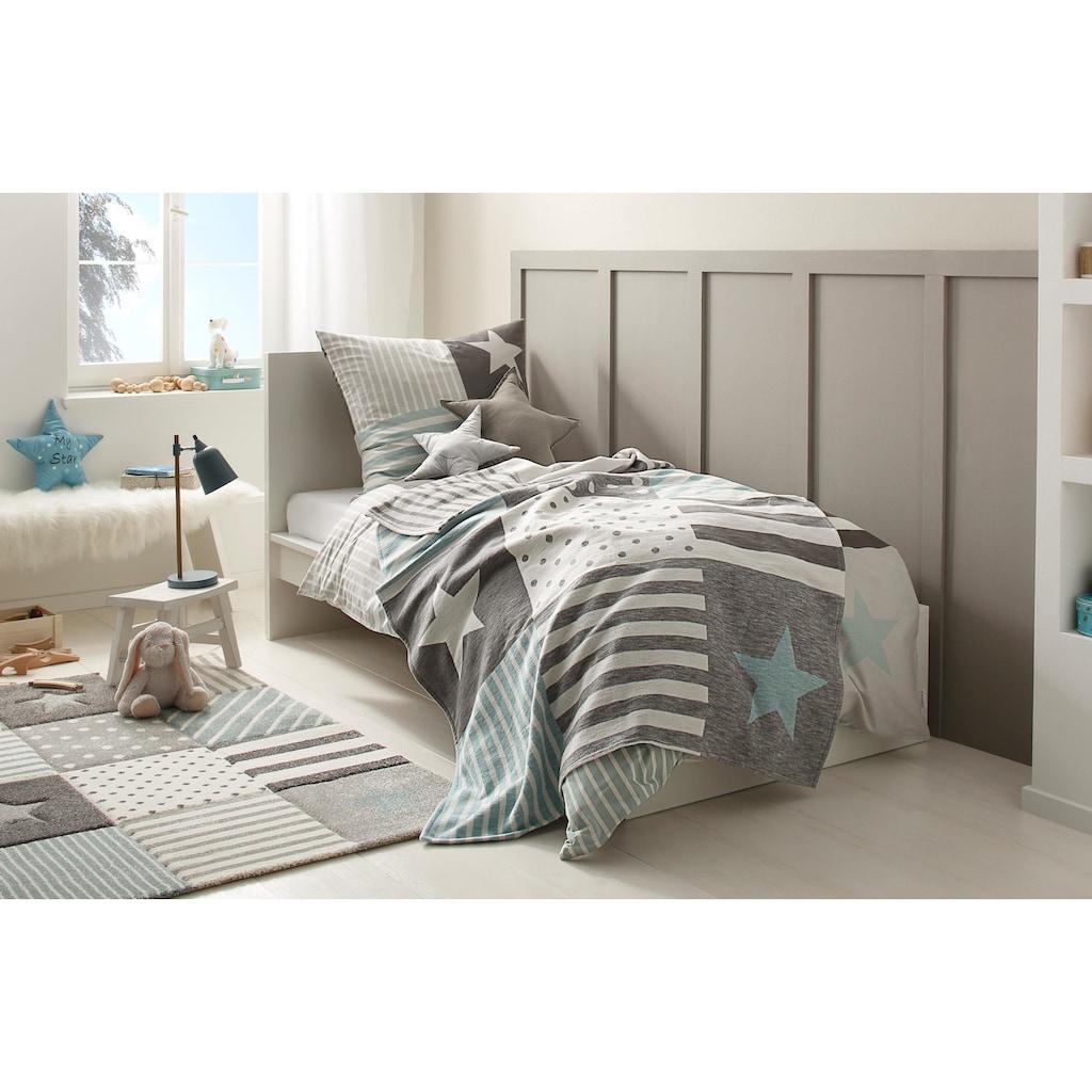 Lüttenhütt Kinderbettwäsche »Stern«, mit tollem Sternendesign