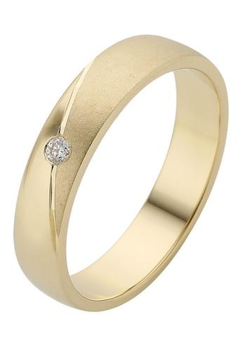 Firetti Trauring mit Gravur »glanz, sandmatt, Diamantschnitt, 4,0 mm breit«, Made in... kaufen