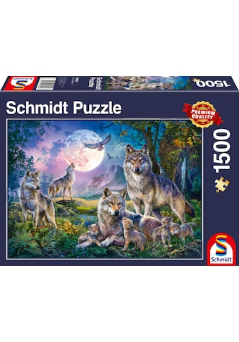Schmidt Spiele Puzzle »Wölfe«, Made in Europe kaufen