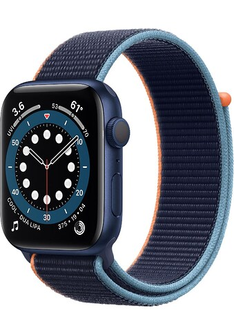 Apple Series 6 GPS + Cellular, Aluminiumgehäuse mit Sport Loop 44mm Watch kaufen
