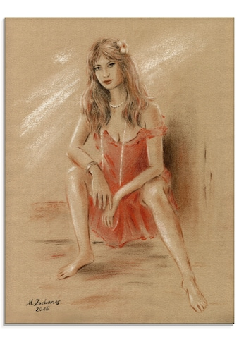 Artland Glasbild »Sehnsucht - Erotik Frauen«, Frau, (1 St.) kaufen