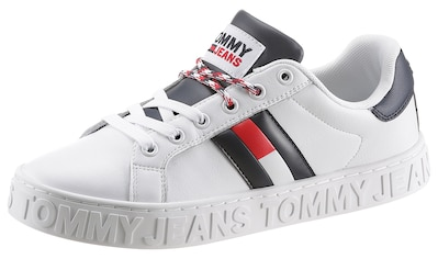 TOMMY JEANS Plateausneaker »COOL TOMMY JEANS WARMLINED FLAG« kaufen