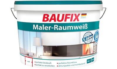 BAUFIX Wand -  und Deckenfarbe »Maler - Raumweiß«, 10 Liter kaufen