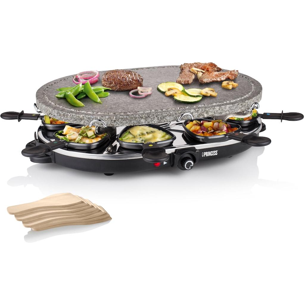 PRINCESS Raclette »162720«, 8 St. Raclettepfännchen, 1200 W