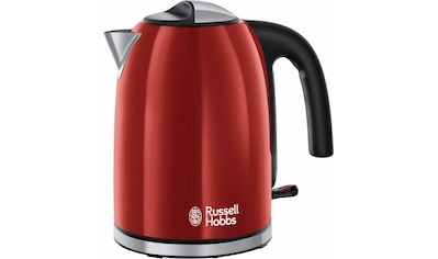 RUSSELL HOBBS Wasserkocher, 20412 - 70 WK Colours Plus+ Flame Red, 1,7 Liter, 2400 Watt kaufen