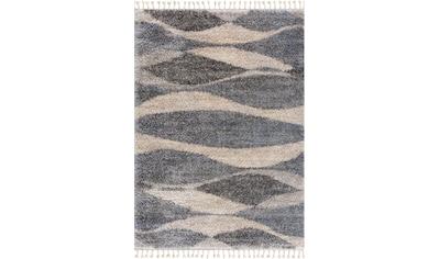Sanat Hochflor-Teppich »Versay 1505«, rechteckig, 30 mm Höhe, Shaggy Teppich mit... kaufen
