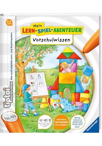 """Ravensburger Buch """"tiptoi® Mein Lern - Spiel - Abenteuer, Vorschulwissen"""" kaufen"""