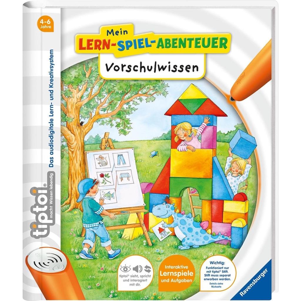 Ravensburger Buch »tiptoi® Mein Lern-Spiel-Abenteuer, Vorschulwissen«, Made in Europe