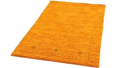 morgenland Wollteppich »Gabbeh Teppich handgewebt orange«, rechteckig, 15 mm Höhe kaufen