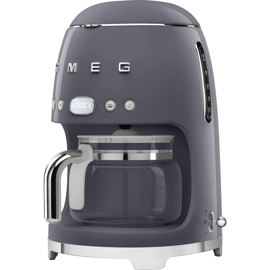 Smeg Filterkaffeemaschine »DCF02GREU«, Permanentfilter-Papierfilter, 1x4