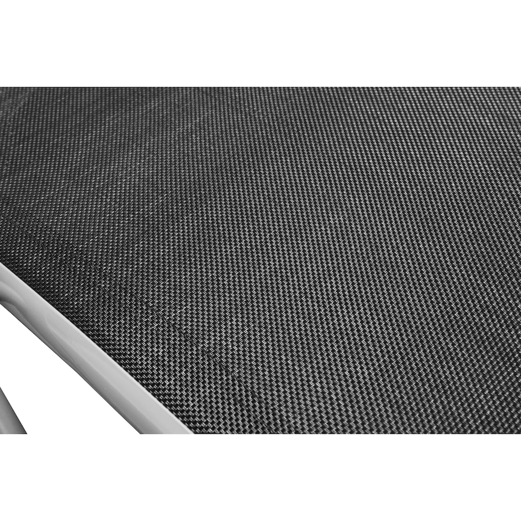 MERXX Gartenliege, Alu/Textil, klappbar
