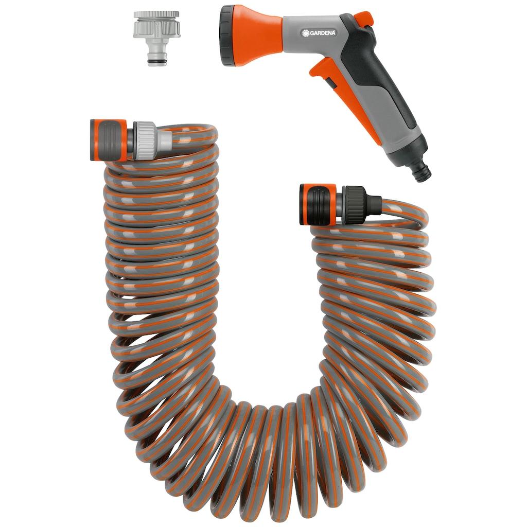 """GARDENA Spiralschlauch »04647-20«, (Set), mit Systemteilen und Brause, 6.1 mm (1/4"""")"""