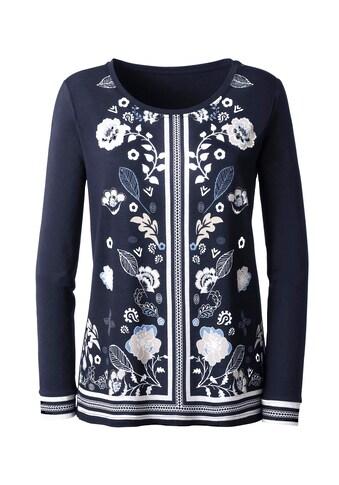 Classic Inspirationen Shirt mit Blumendruck kaufen