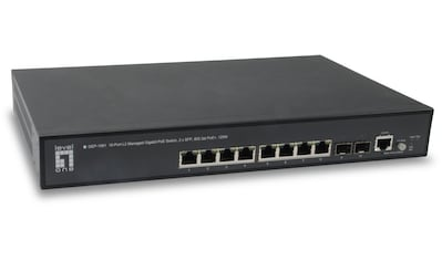 Levelone Switch »GEP - 1061 10 - Port - L2 - Managed - Gigabit - PoE - Switch« kaufen