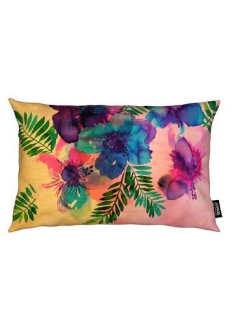 Dekokissen, »Skye Hibiscus Floral«, Juniqe kaufen