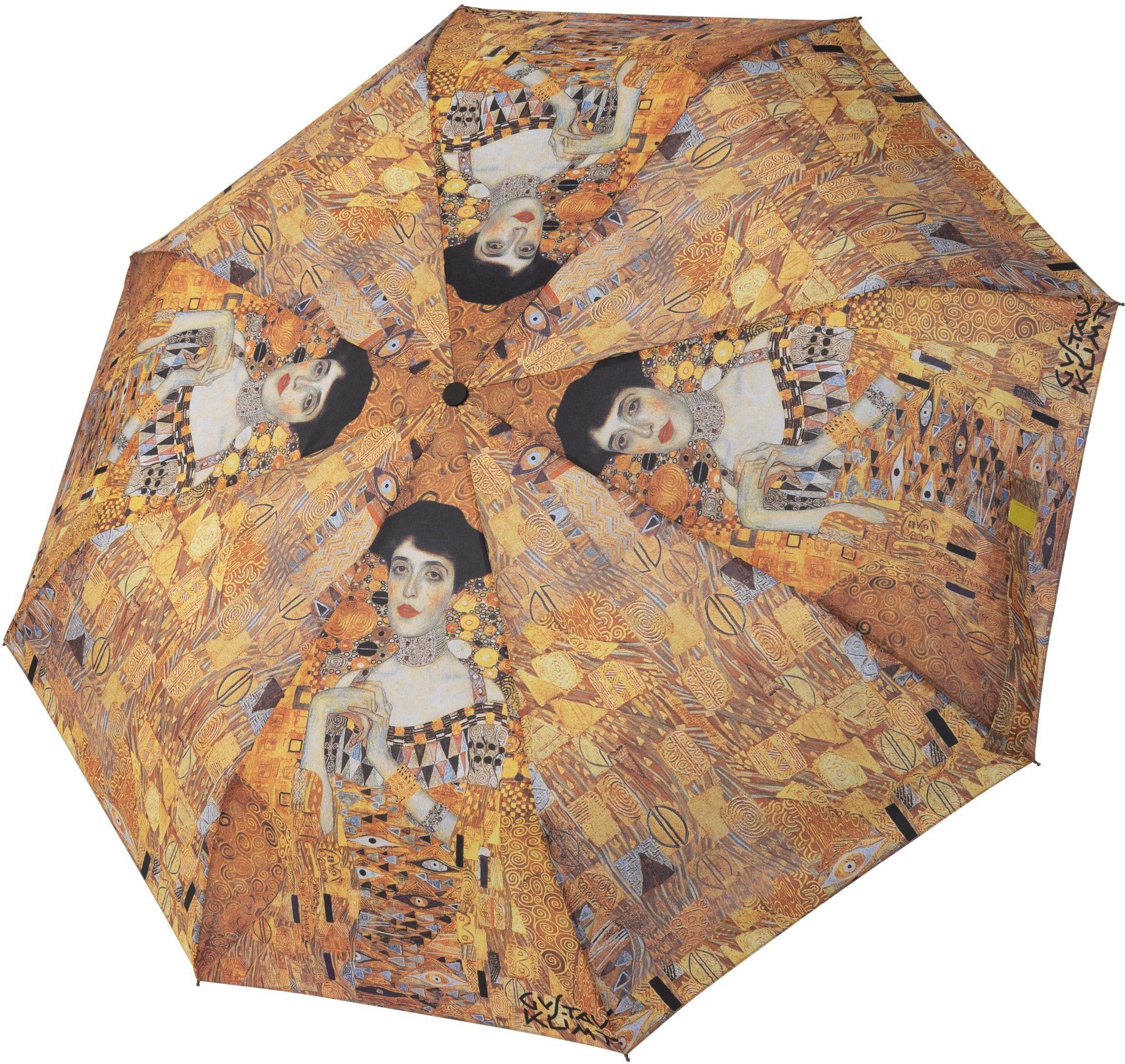 "doppler Taschenregenschirm ""Art Collection Magic Mini Klimt Adele"" Damenmode/Schmuck & Accessoires/Accessoires/Regenschirme/Taschenschirme"