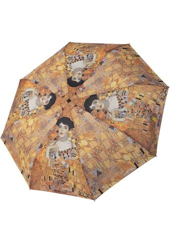 doppler® Taschenregenschirm »Art Collection Magic Mini, Klimt Adele«, mit UV-Schutz kaufen