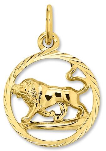 ONE ELEMENT Sternzeichenanhänger »Sternzeichen Anhänger Löwe aus 333 Gelbgold« kaufen